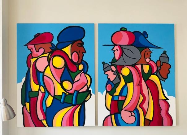 WIP-Paintings
